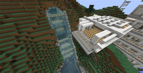 Mountain base map minecraft map