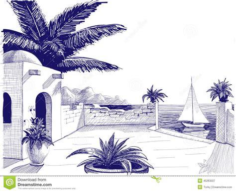 Sea ship sketch stock illustration illustration of