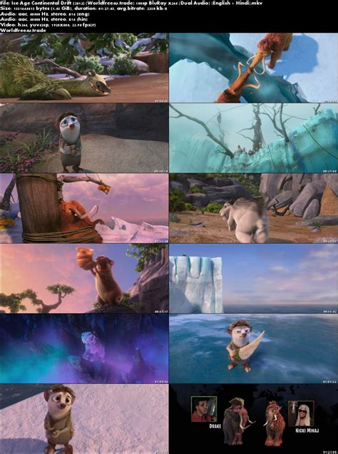 Ice age 2 the meltdown in english with english